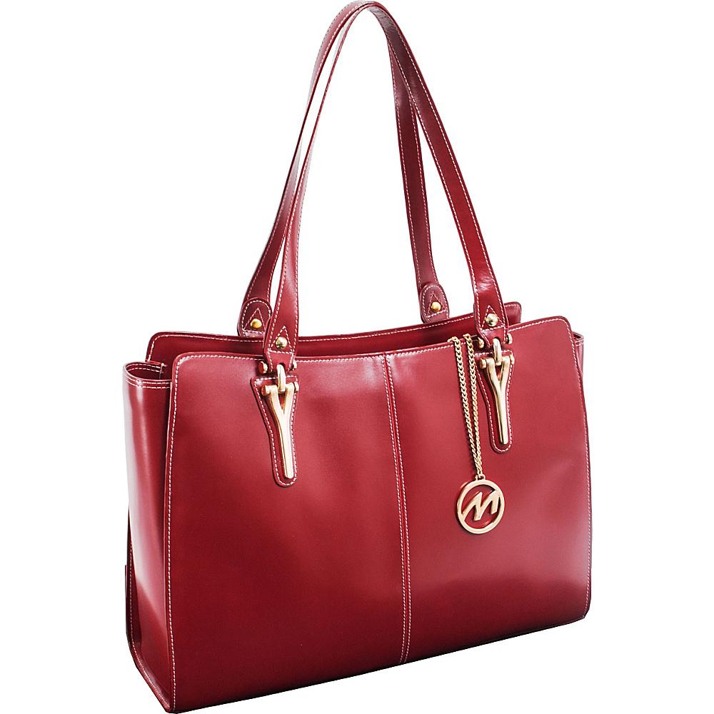 McKlein USA Glenna Tote Red McKlein USA Women s Business Bags