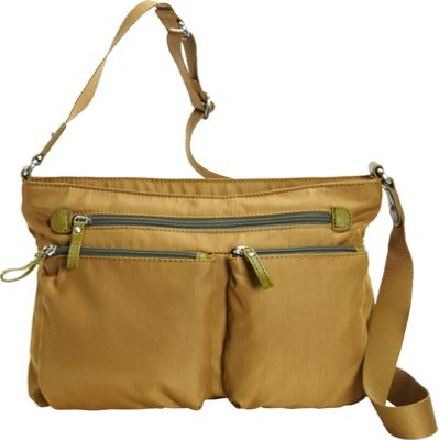 Osgoode Marley Zip Top Crossbody Pear - Osgoode Marley Fabric Handbags
