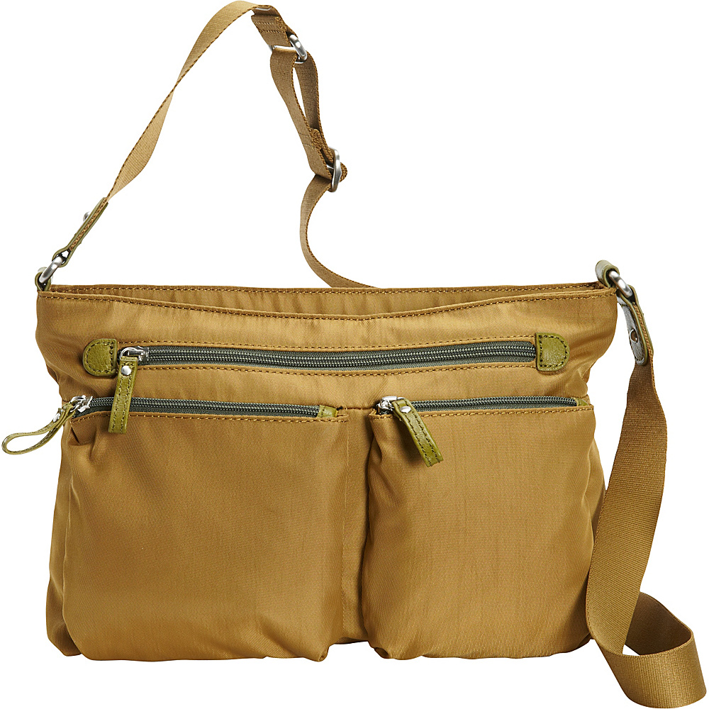 Osgoode Marley Zip Top Crossbody Pear Osgoode Marley Fabric Handbags