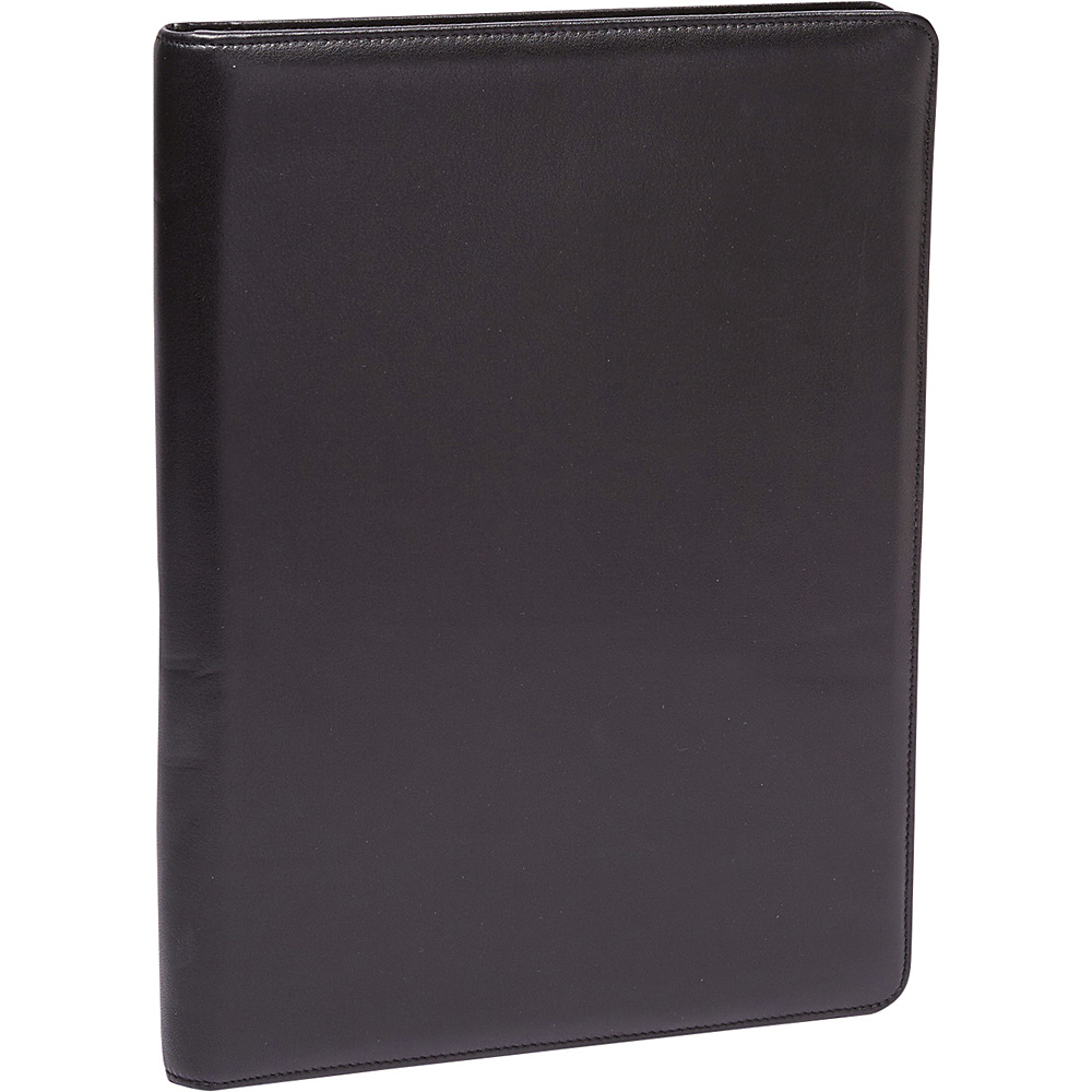 Tanners Avenue Premium Leather Letterpad Portfolio Black Tanners Avenue Business Accessories