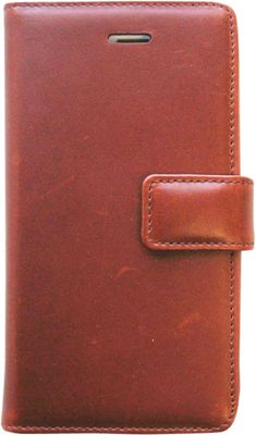 Tanners Avenue Leather iPhone 5/5s/5c Case Wallet Chestnut - Tanners Avenue Electronic Cases
