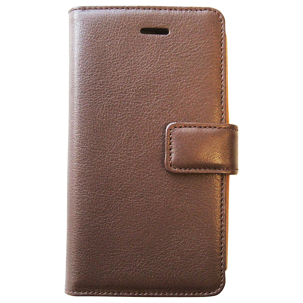 Tanners Avenue Leather iPhone 5 5s 5c Case Wallet Brown Chestnut Interior Tanners Avenue Electronic Cases
