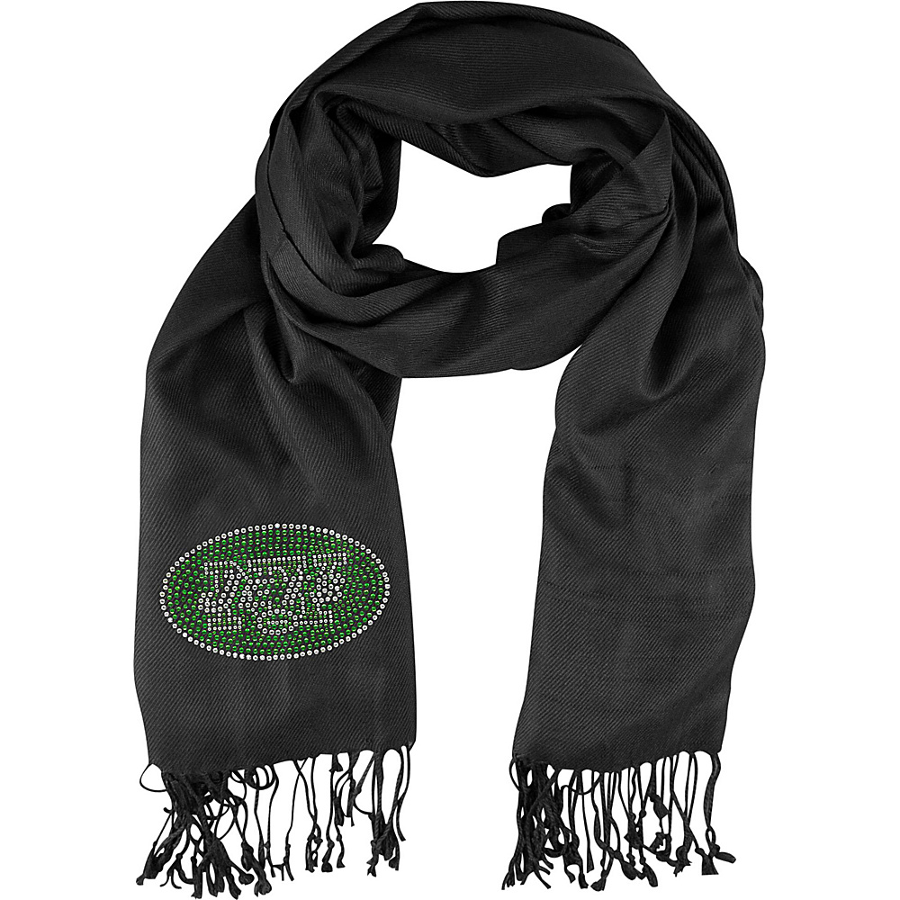 Littlearth Pashi Fan Scarf - Independent Teams New York Jets - Littlearth Hats/Gloves/Scarves - Fashion Accessories, Hats/Gloves/Scarves