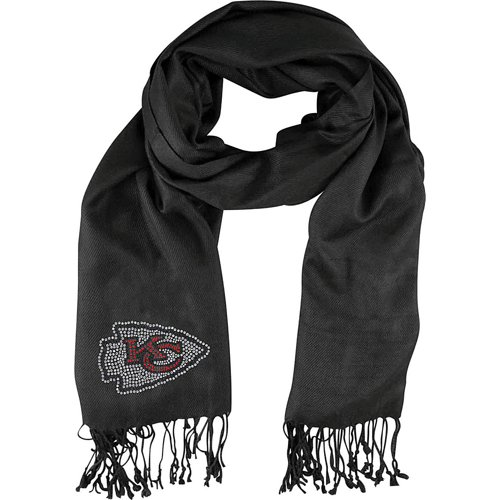 Littlearth Pashi Fan Scarf - Independent Teams Kansas City Chiefs - Littlearth Hats/Gloves/Scarves - Fashion Accessories, Hats/Gloves/Scarves