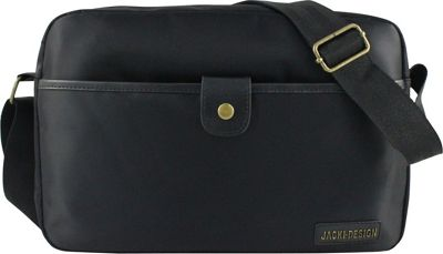 Jacki Design Men's Messenger Bag Black - Jacki Design Messenger Bags