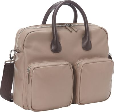Nava N_Leather Briefcase Dove - Nava Non-Wheeled Business Cases