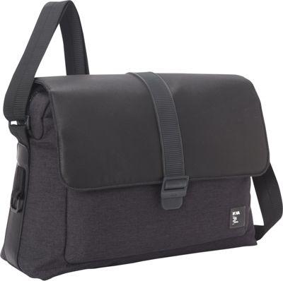 Nava Courier Messenger Graphite - Nava Messenger Bags