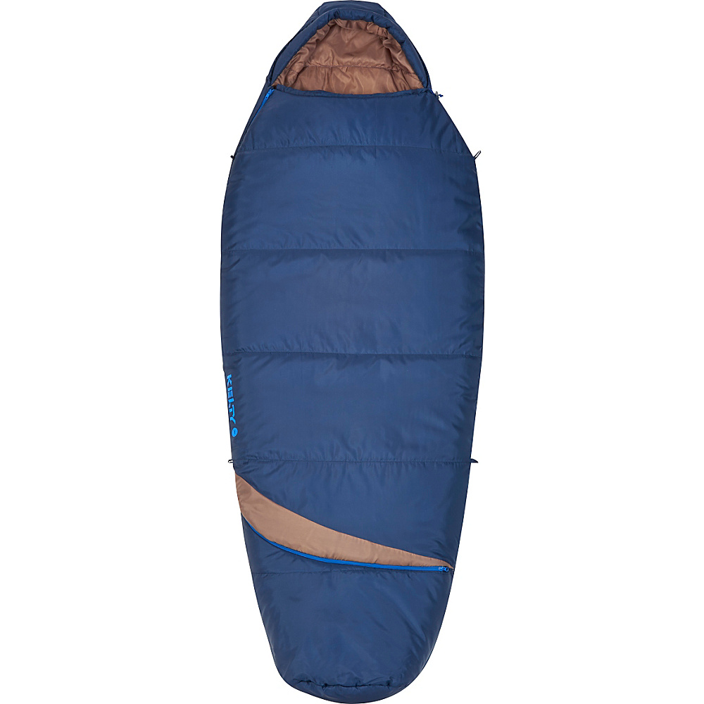 Kelty Tuck EX 20 Degree ThermaPro RH Sleeping Bag Twilight Blue Regular Kelty Outdoor Accessories