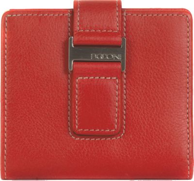 Boconi Kylie RFID ID Wallet Berry with Blonde - Boconi Women's Wallets