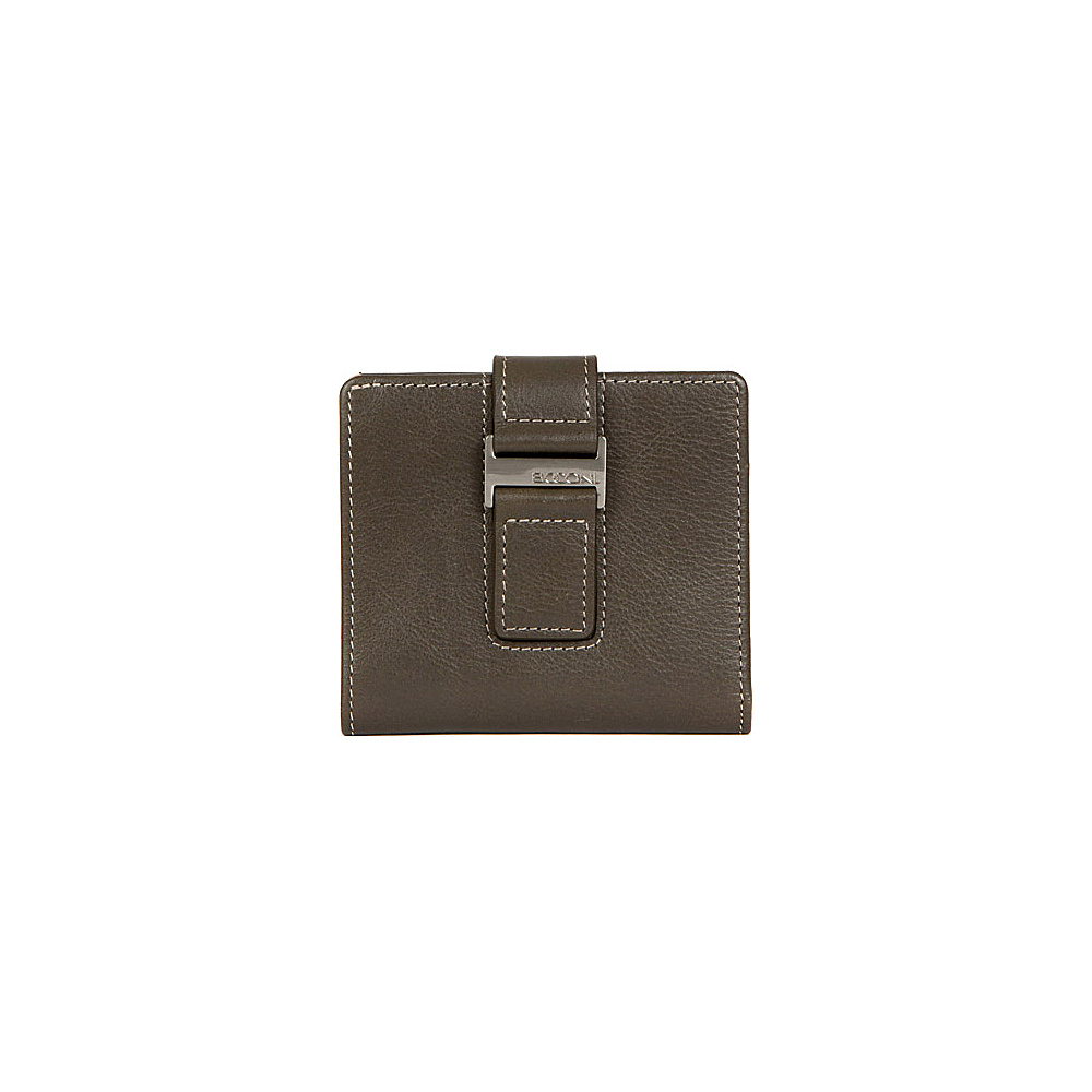 Boconi Kylie RFID ID Wallet Fern with Blonde Boconi Women s Wallets