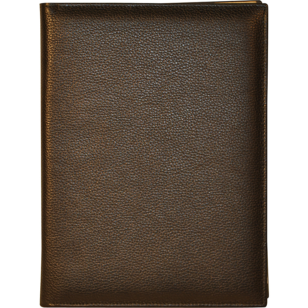 Budd Leather Petite Refillable Leather Journal Black Budd Leather Business Accessories