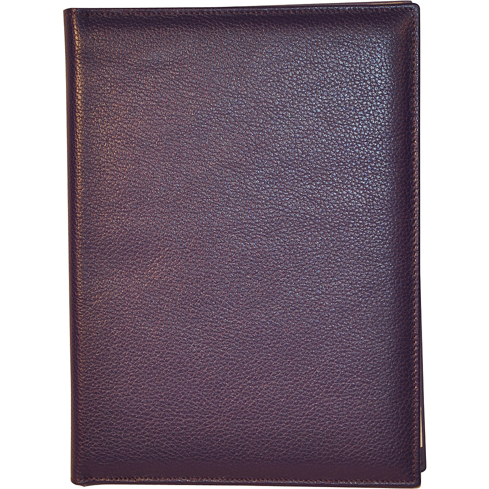 Budd Leather Petite Refillable Leather Journal Purple Budd Leather Business Accessories