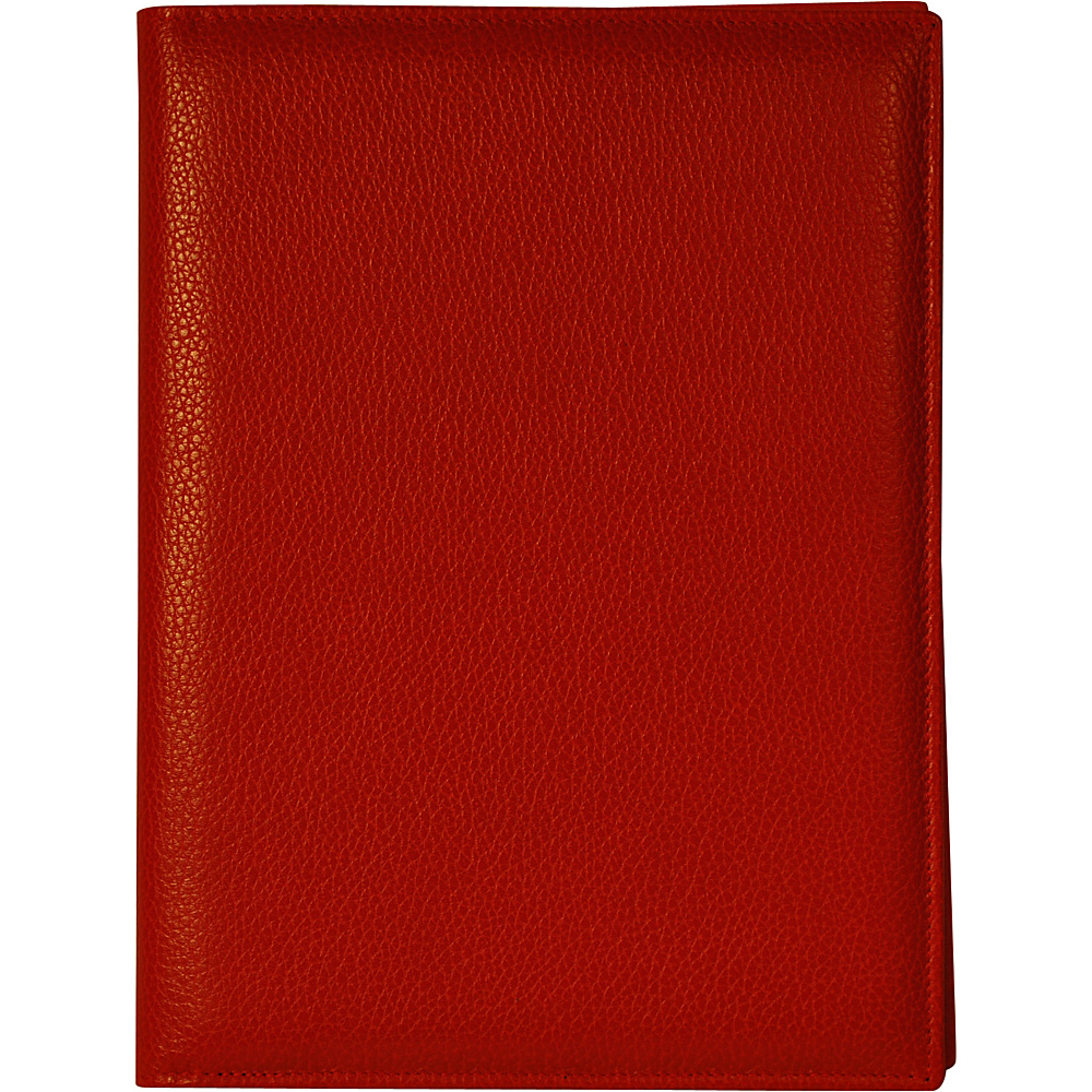 Budd Leather Petite Refillable Leather Journal Red Budd Leather Business Accessories
