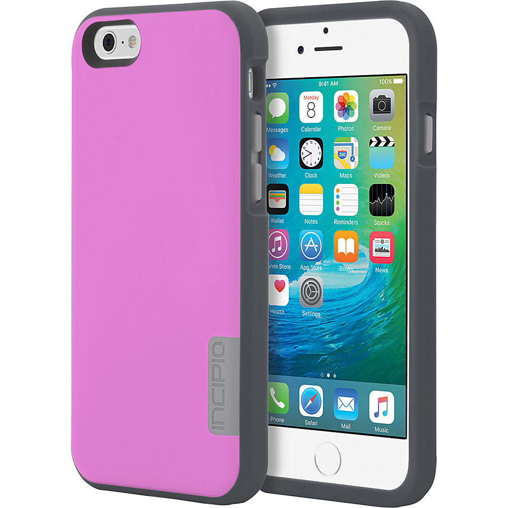 Incipio Phenom for iPhone 6/6s Bubble Gum Pink/Charcoal/Gray - Incipio Electronic Cases - Technology, Electronic Cases