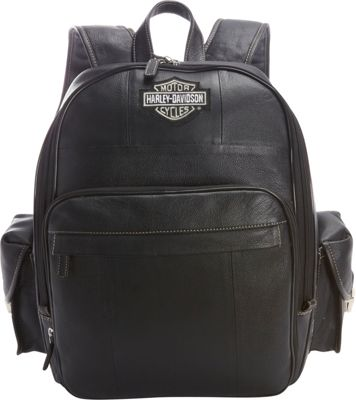 Harley Davidson by Athalon Leather Backpack