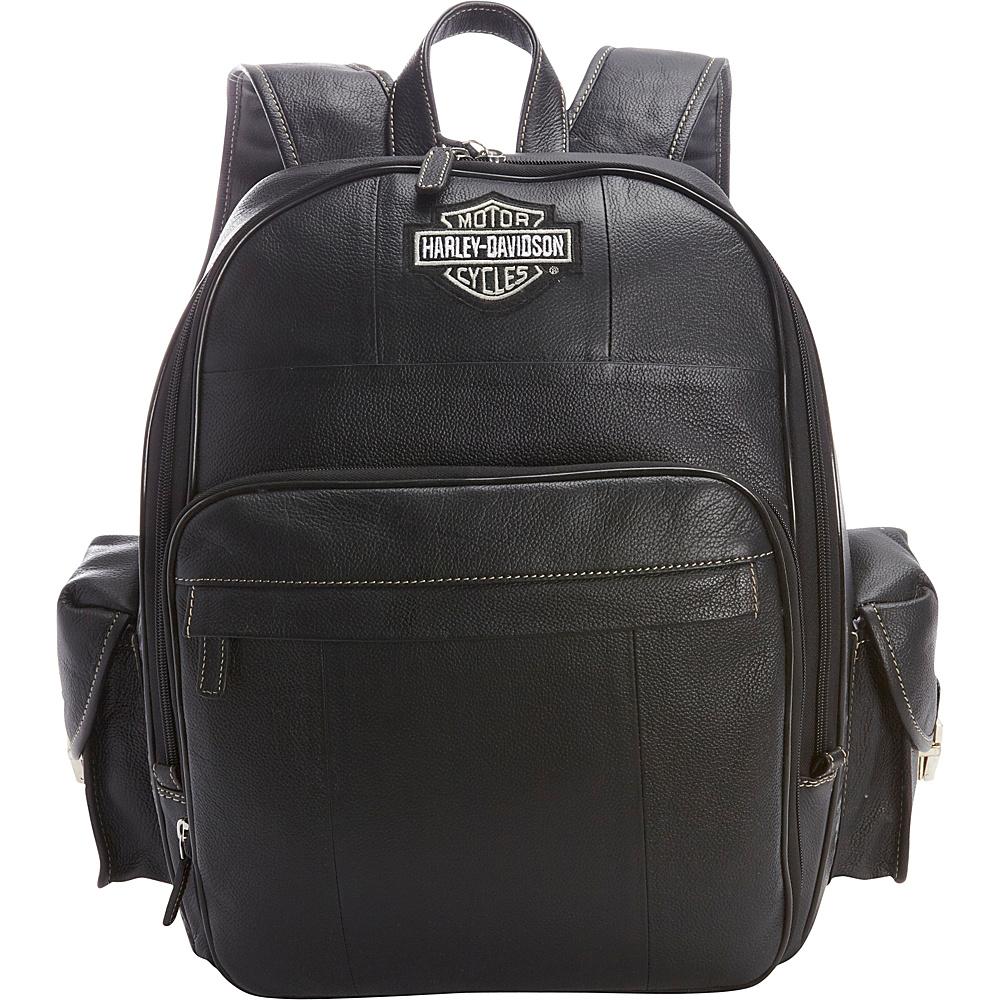 harley davidson by athalon leather backpack large. Black Bedroom Furniture Sets. Home Design Ideas