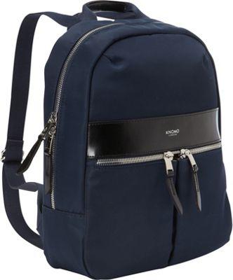 KNOMO London Beauchamp Mini Tablet Backpack Navy - KNOMO London Everyday Backpacks