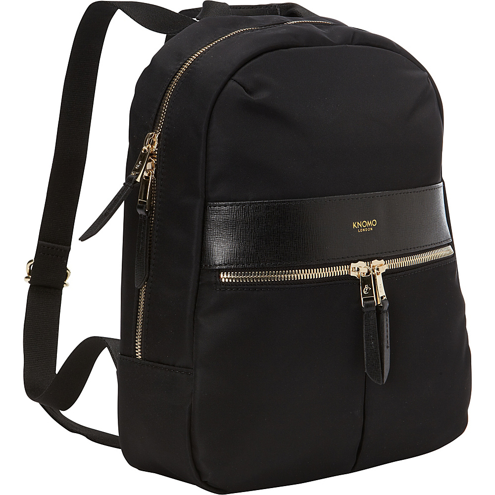 KNOMO London Beauchamp Mini Tablet Backpack Black KNOMO London Everyday Backpacks