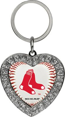 Luggage Spotters MLB Boston Red Sox Rhinestone Key Chain Red - Luggage Spotters Women's SLG Other