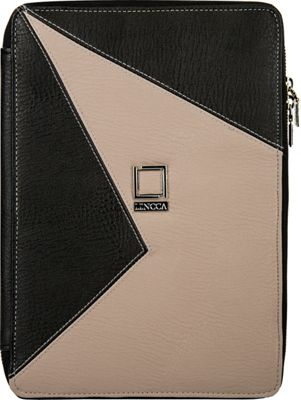 Lencca Minky Universal Tablet PortfolioCover Onyx / Taupe - Lencca Electronic Cases