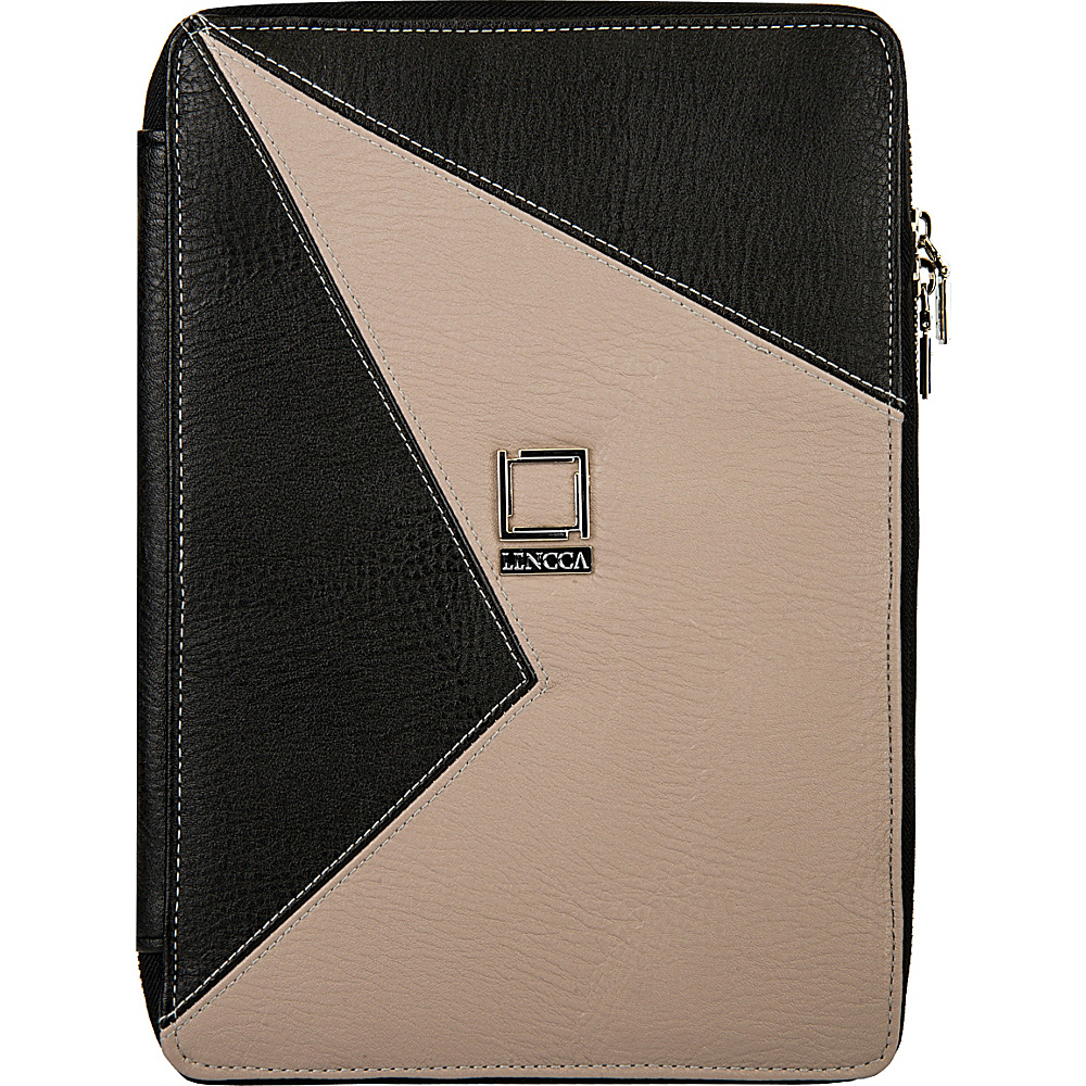 Lencca Minky Universal Tablet PortfolioCover Onyx Taupe Lencca Electronic Cases