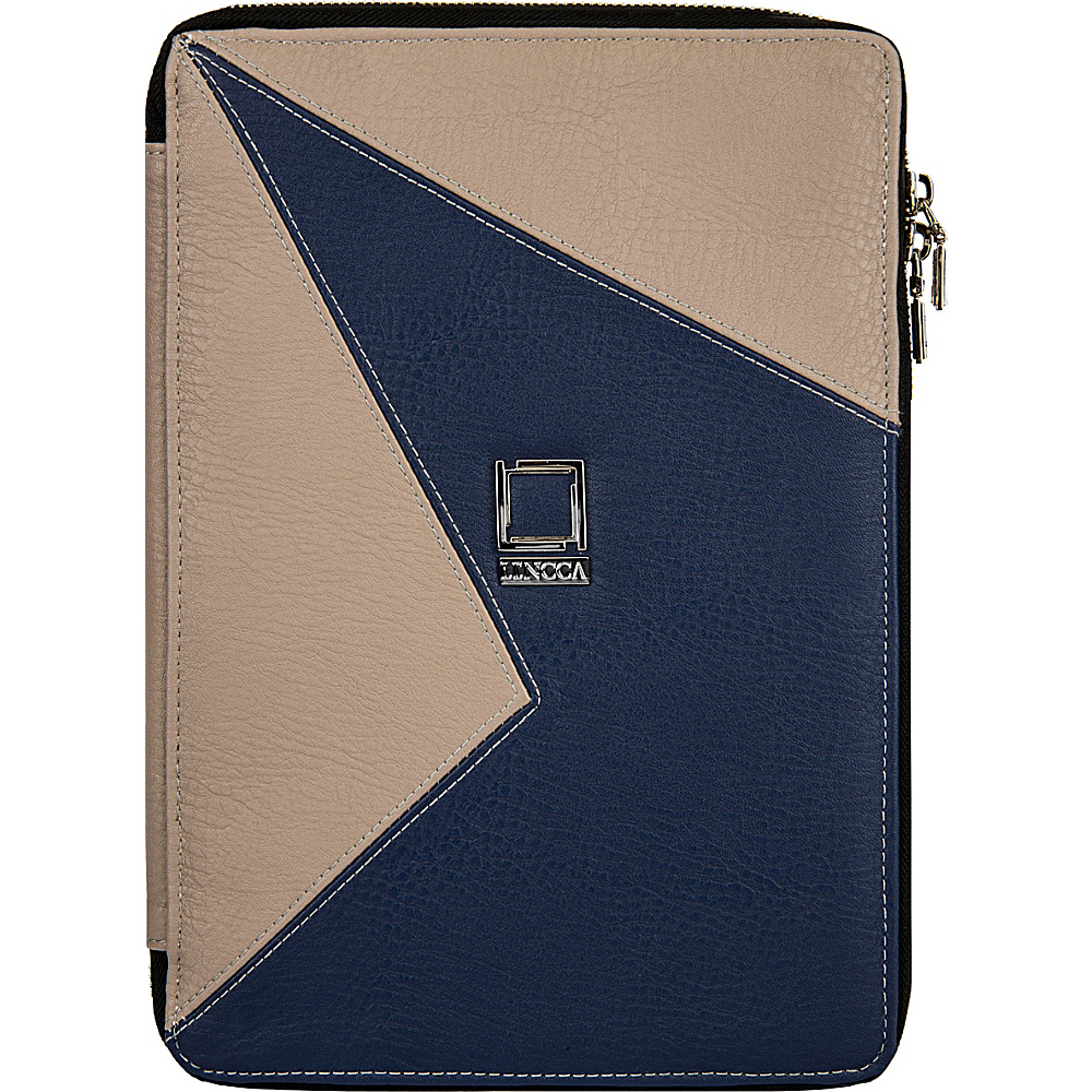 Lencca Minky Universal Tablet PortfolioCover Blue Taupe Lencca Electronic Cases