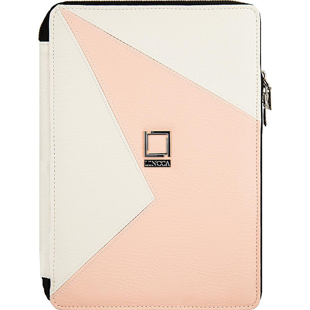 Lencca Minky Universal Tablet PortfolioCover White Blush Lencca Electronic Cases