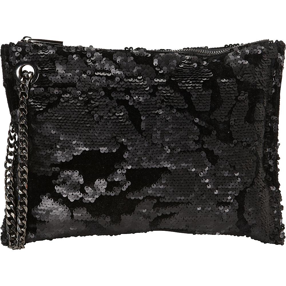 deux lux Daisy Pouch Black - deux lux Evening Bags