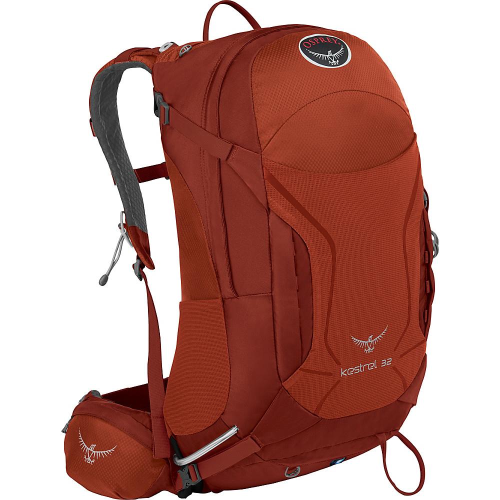 Osprey Kestrel 32 Hiking Backpack Dragon Red - M/L - Osprey Backpacking Packs - Outdoor, Backpacking Packs