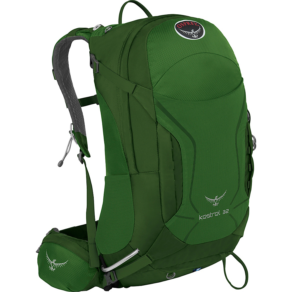 Osprey Kestrel 32 Hiking Backpack Jungle Green - M/L - Osprey Backpacking Packs - Outdoor, Backpacking Packs