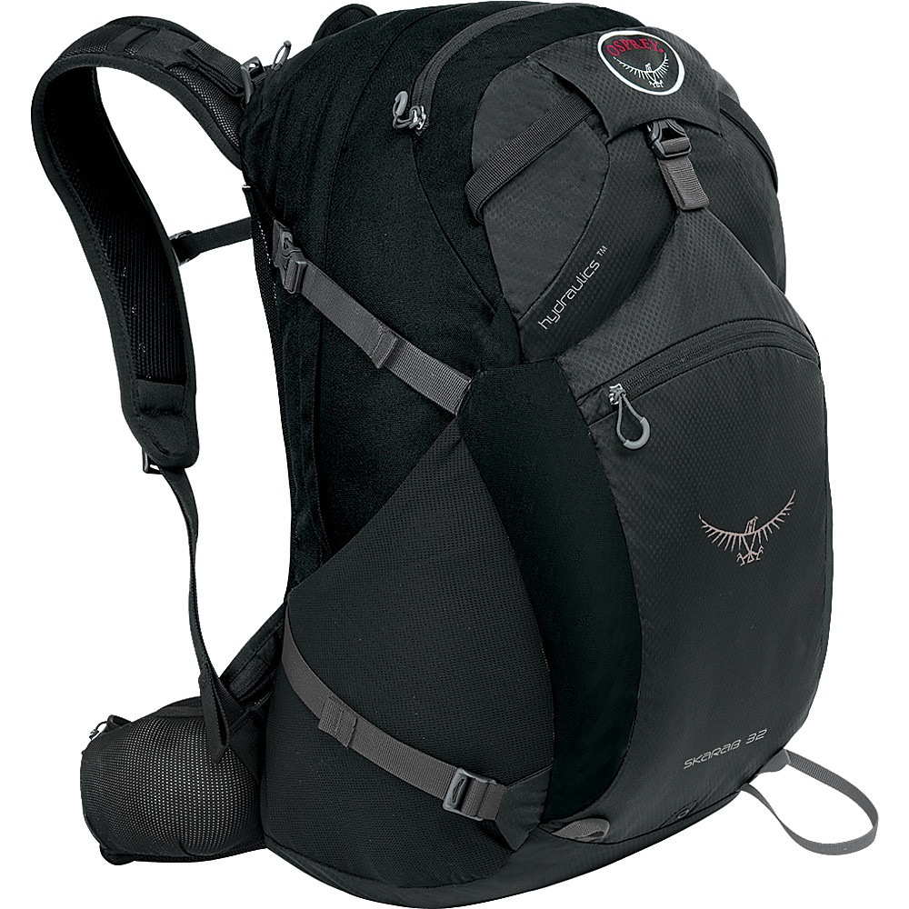 Osprey Skarab 32 Hiking Backpack Carbon Grey - S/M - Osprey Day Hiking Backpacks - Outdoor, Day Hiking Backpacks