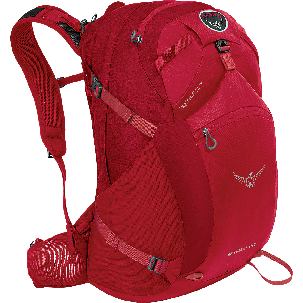 Osprey Skarab 32 Hiking Backpack Inferno Red - S/M - Osprey Day Hiking Backpacks - Outdoor, Day Hiking Backpacks