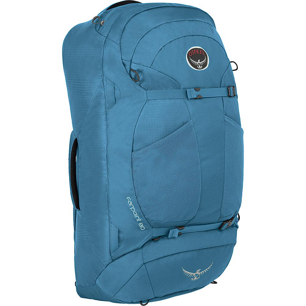 Osprey Farpoint 80 Travel Backpack Caribbean Blue - M/L - Osprey Travel Backpacks