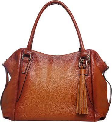 Vicenzo Leather Amedea Leather Tote Brown - Vicenzo Leather Leather Handbags