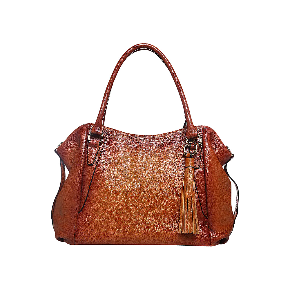 Vicenzo Leather Amedea Leather Tote Brown Vicenzo Leather Leather Handbags