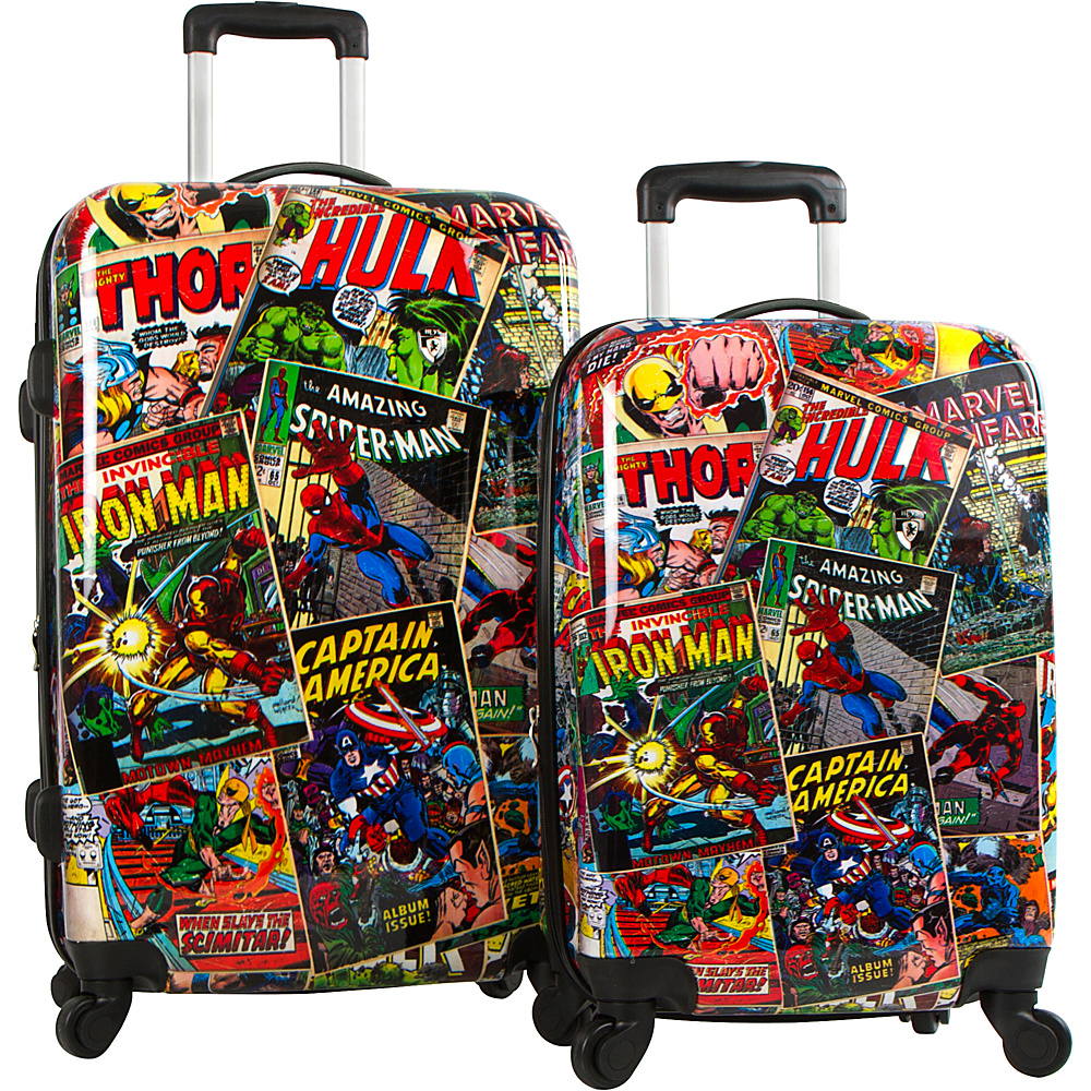 Heys America Marvel Comics 2pc Set MULTICOLOR Heys America Luggage Sets