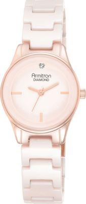 Armitron Women's Bracelet Watch Pink/Rose Gold - Armitron Watches