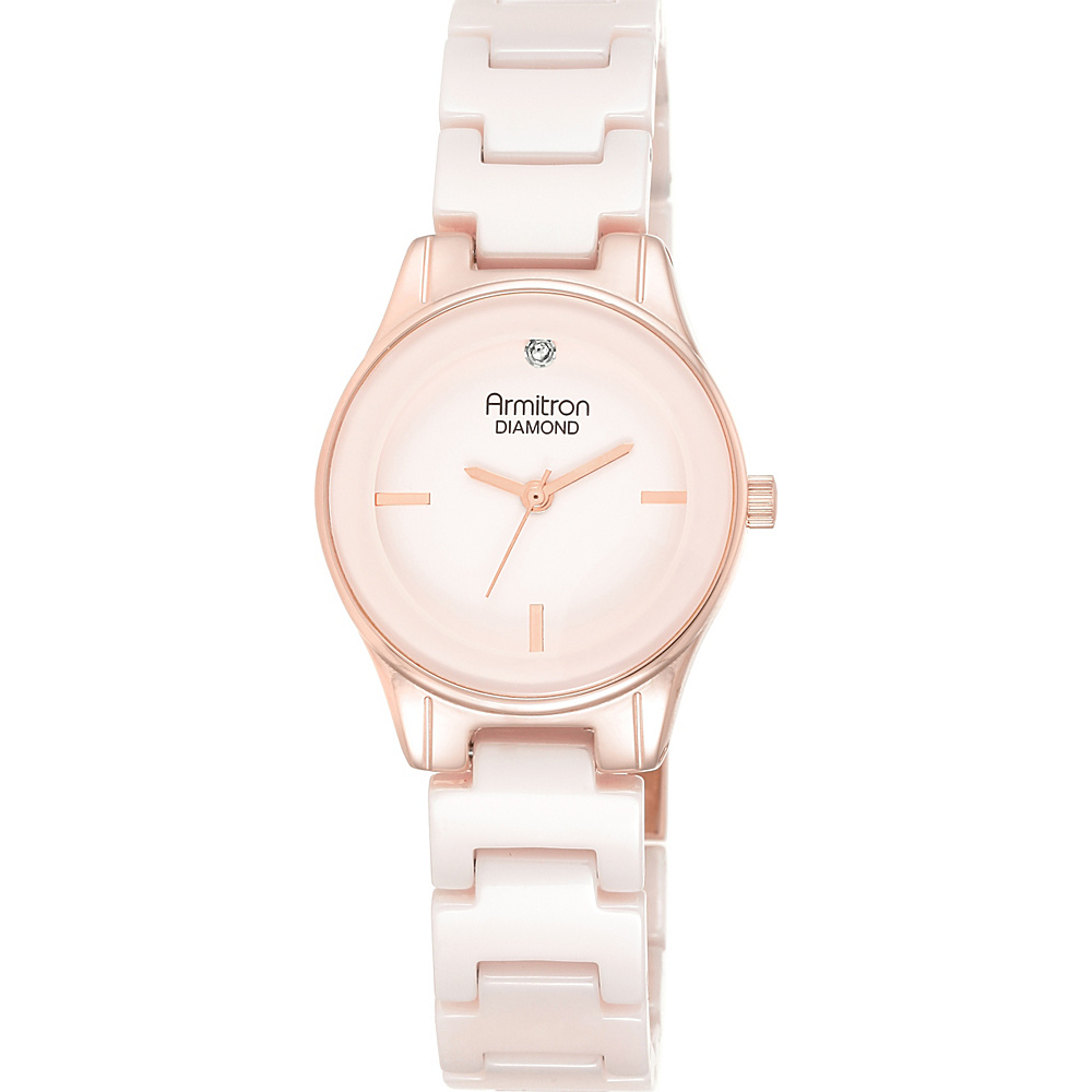 Armitron Women s Bracelet Watch Pink Rose Gold Armitron Watches