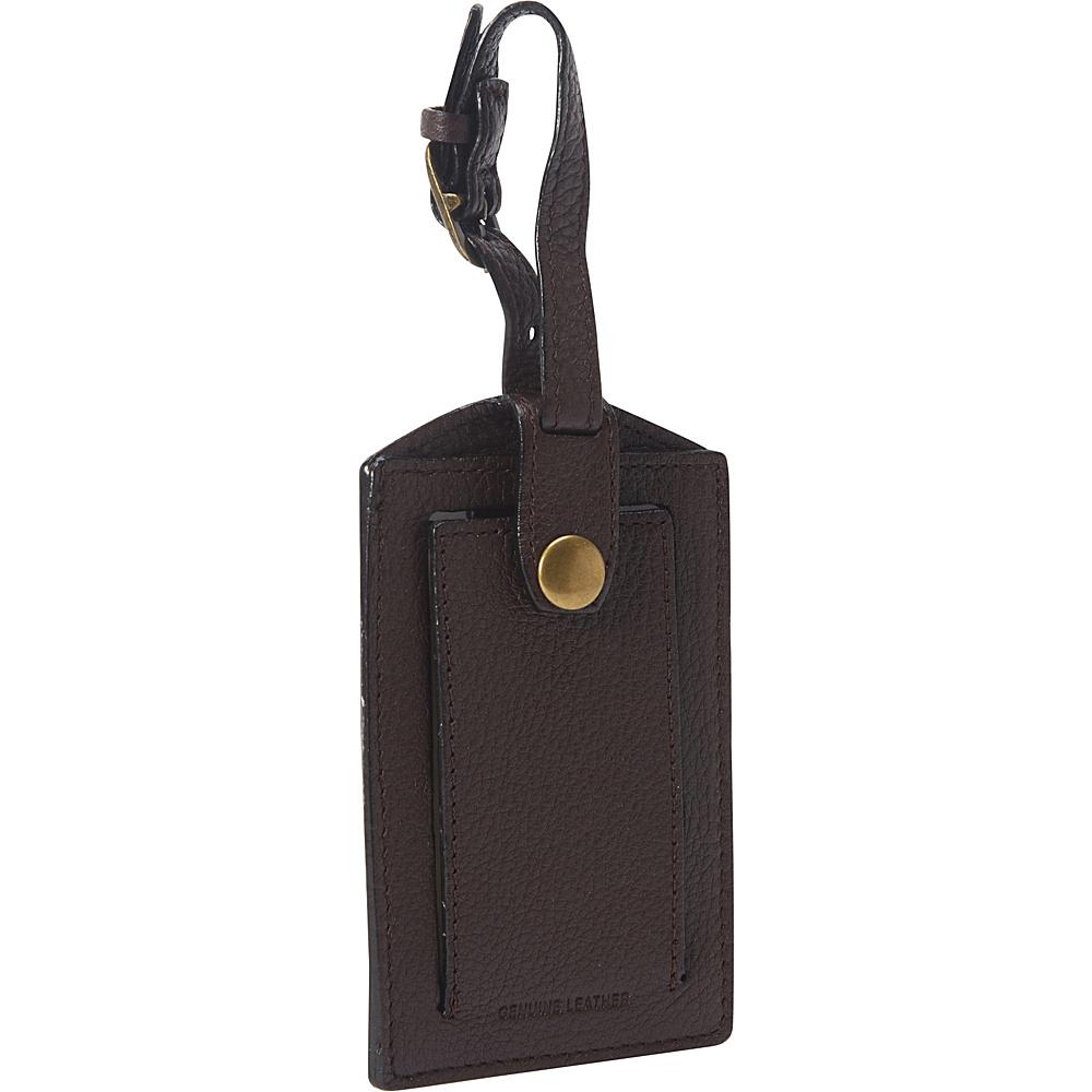 Dopp SoHo Luggage Tag Indigo - Dopp Luggage Accessories