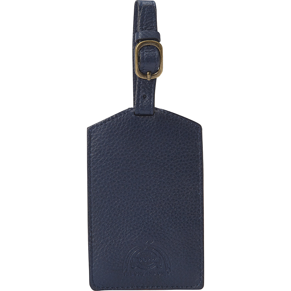 Dopp SoHo Luggage Tag Indigo Dopp Luggage Accessories