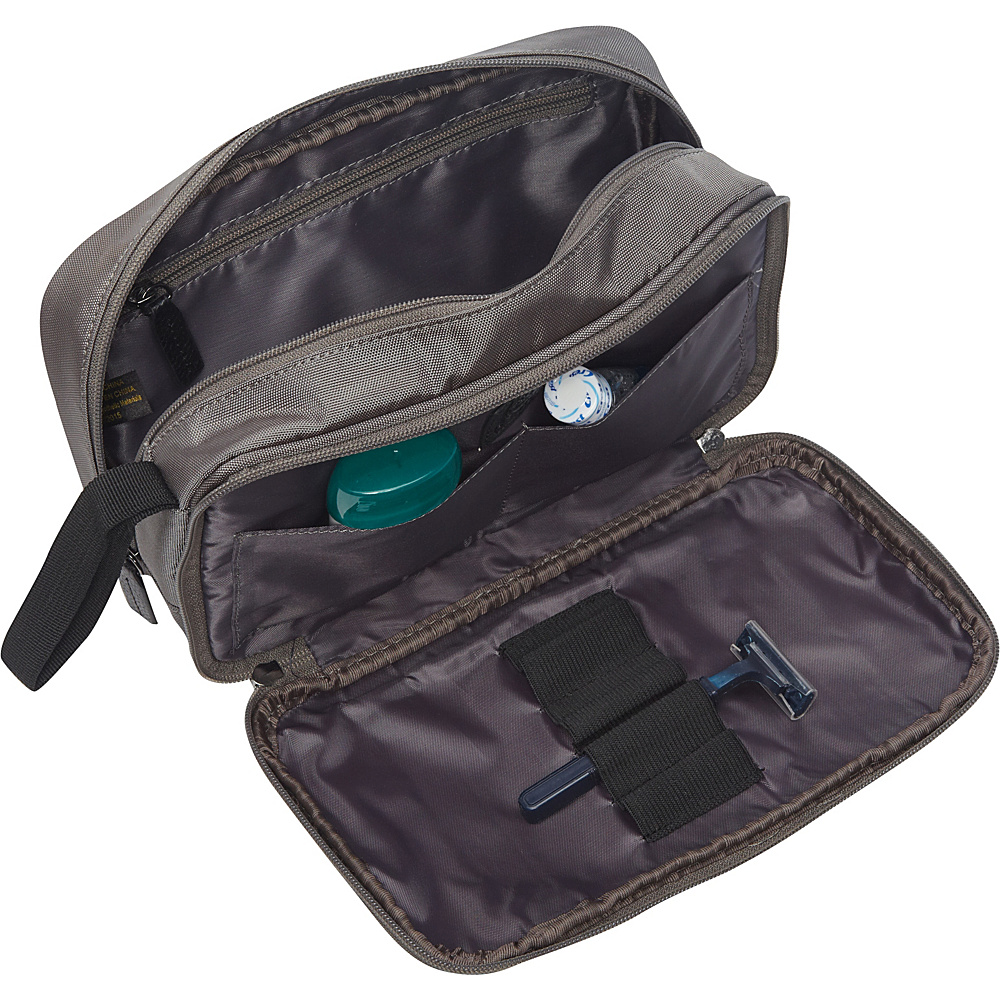 Dopp Commuter Double Zip Toiletry Kit Navy - Dopp Toiletry Kits
