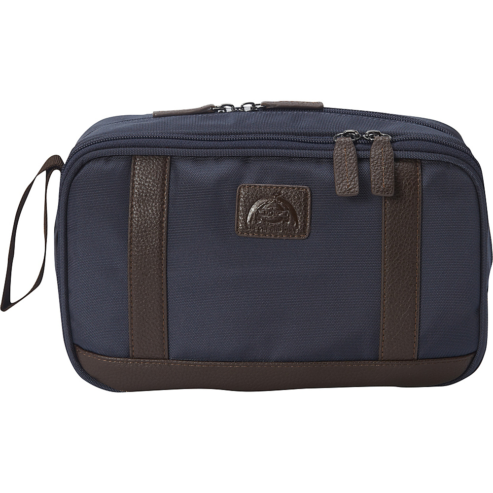 Dopp Commuter Double Zip Toiletry Kit Navy - Dopp Toiletry Kits