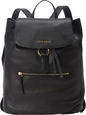 Black Leather Backpack Purse nF8HgYxV