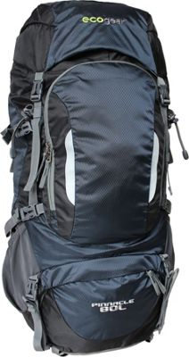 ecogear Pinnacle 80L Hiking Pack Navy Blue - ecogear Day Hiking Backpacks