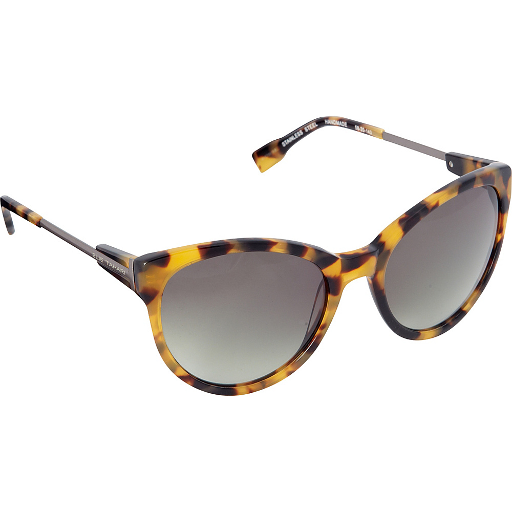Elie Tahari Sunglasses Oversized Cat Eye Sunglasses Tokyo Tortoise - Elie Tahari Sunglasses Sunglasses