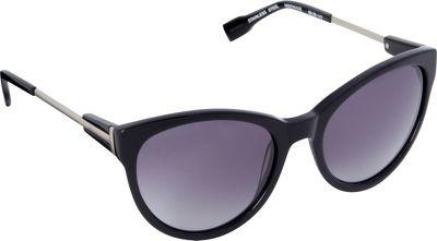 Elie Tahari Sunglasses Oversized Cat Eye Sunglasses Black - Elie Tahari Sunglasses Sunglasses