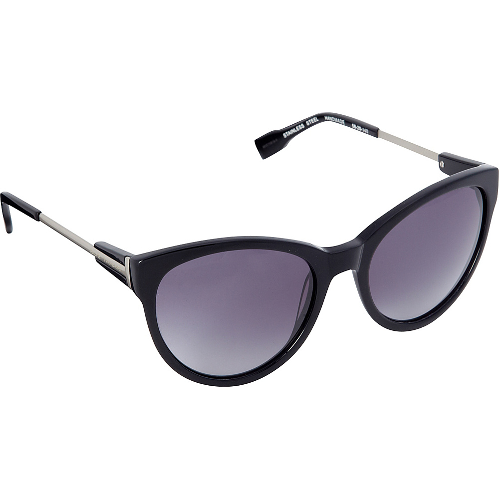 Elie Tahari Sunglasses Oversized Cat Eye Sunglasses Black - Elie Tahari Sunglasses Sunglasses