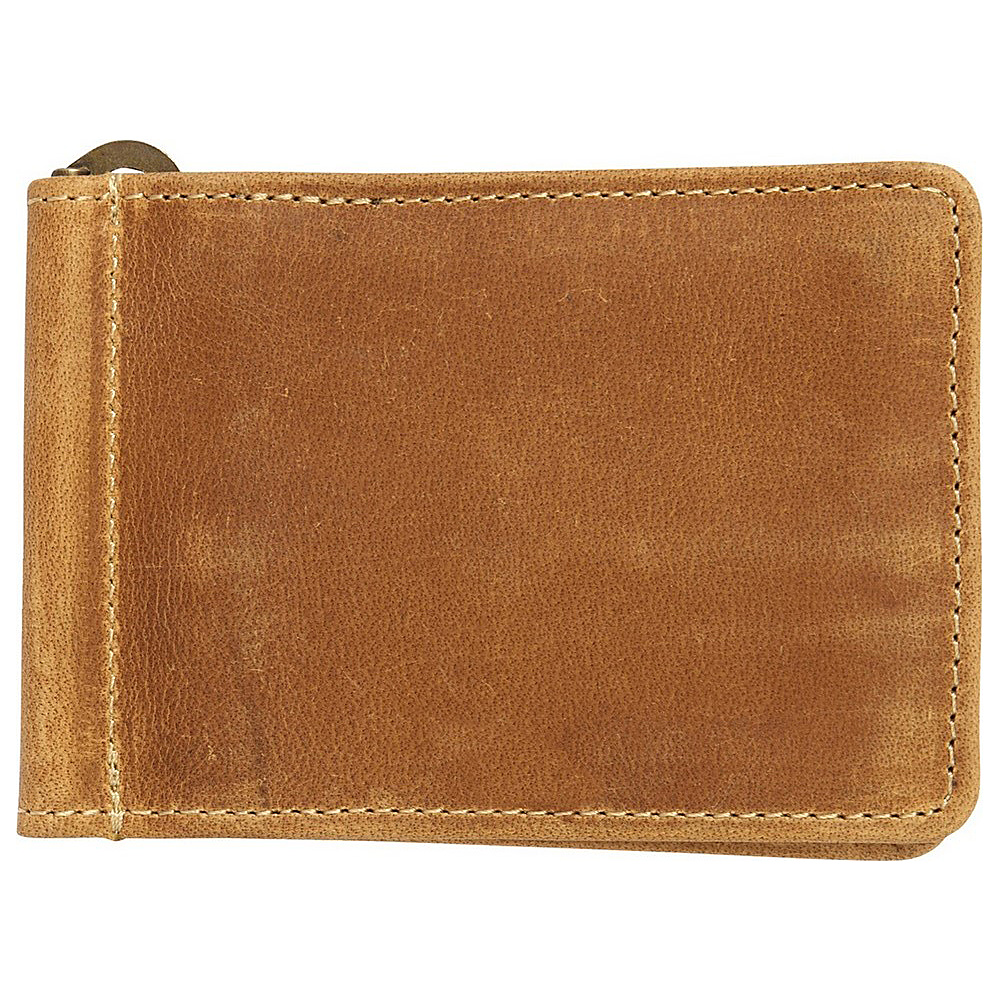 Canyon Outback Bryce Canyon RFID Security Blocking Leather Money Clip Wallet Distressed Tan Canyon Outback Men s Wallets