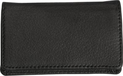 Canyon Outback Leather Cross Canyon Business Card Case Black - Canyon Outback Men's Wallets