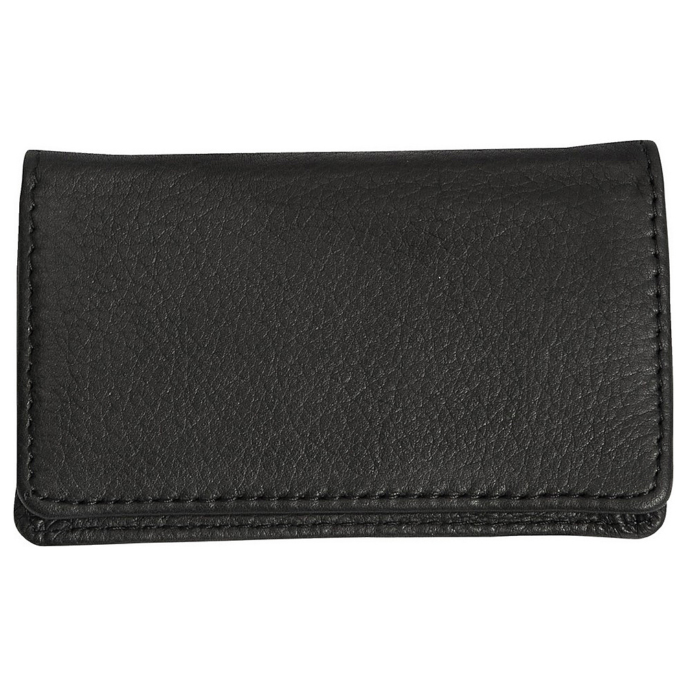 Canyon Outback Leather Cross Canyon Business Card Case Black Canyon Outback Men s Wallets